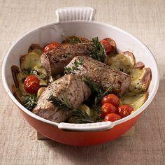 ESSEN & TRINKEN - Filet aus dem Ofen Rezept