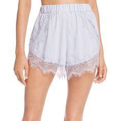 Keepsake Electric Love Shorts ($66) ❤ liked on Polyvore featuring shorts, pastel blue, blue shorts and pastel shorts