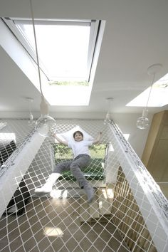 Interior for Students,© Ruetemple #Vide #Hammock #Net