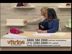 Bordado Vagonite - Leila Jacob - Vitrine do Artesanato na TV