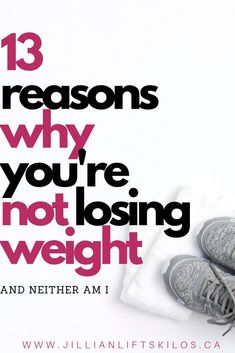 Why aren& I losing weight? Maybe you have hit a weight loss plateau and you don& know how to lose more weight. Here are 13 reasons you might not be losing weight, and how to fix them to ensure safe weight loss. Losing Weight Tips, Diet Plans To Lose Weight, Weight Loss Goals, Weight Loss Motivation, Healthy Weight Loss, How To Lose Weight Fast, Weight Lifting, Workout Motivation, Reduce Weight