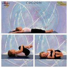Cocoon Yoga For Kids, 4 Kids, Children, Preschool Yoga, Massage, Practice Yoga, Asana, Yoga Poses, Namaste