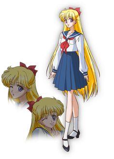 Minako Aino. Sailor Moon Crystal
