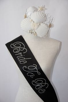 NEW YEAR'S BRIDE Special - Bride To Be- Bachelorette Sash - Black or  White Only - Party Decor Bridal Shower Bachelorette Party by CinamonGirl on Etsy https://www.etsy.com/listing/130650326/new-years-bride-special-bride-to-be