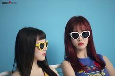 "Gfriend Summer Mini Album ""Sunny Summer"" Photoshoot Behind Cr: Source_Music Gfriend Album, Sinb Gfriend, Extended Play, South Korean Girls, Korean Girl Groups, Cotton Candy Sky, Cloud Dancer, Entertainment, G Friend"