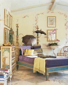 Charlotte Moss | Her Hamptons home/Sleeping Porch