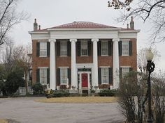 Hunt-Phelan House, 533 Beale Street, Memphis, Tennessee. During the Civil War, this was the headquarters for Confederate General Ulysses S. Grant while he planned the Vicksburg Campaign. During the height of the Yellow Fever epidemic, an old slave to the house, Nathan Wilson, died and is said to still serve on the property to this very day.