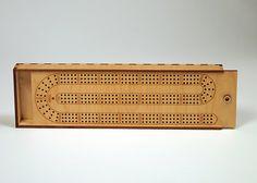 Cribbage Board In A Standard Shape. Uses Standard Tapered Pegs. Digital Laser…