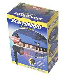 RedPurple Starry Motion Laser Christmas Light Shower Night Star Dancing on TV