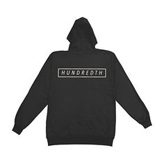 Hundredth Men's Free Hooded Sweatshirt Black - http://bandshirts.org/product/hundredth-mens-free-hooded-sweatshirt-black/