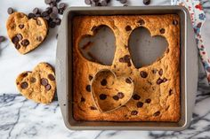 Heart Shaped Cookies: Easy Chocolate Chip Cookie Cut-Outs