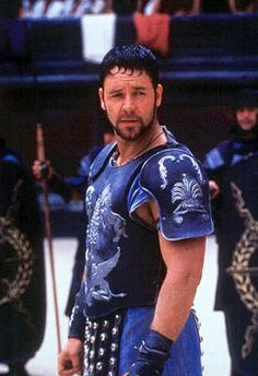 Russel Crowe as Maximus in Gladiator