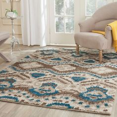Safavieh's Tibetan Shag collection is inspired by timeless shag designs crafted with the softest polypropylene available.
