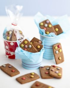 Domino Cookies. fun to make with kids for family night. Use gingerbread recipe.