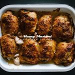 Honey Mustard Chicken Thigh Recipe · i am a food blog i am a food blog
