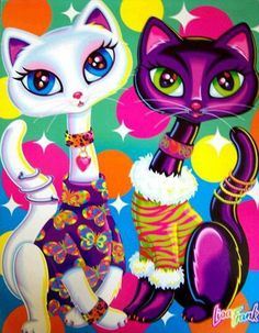 Totally had this binder as a kid... Lisa Frank was my hero