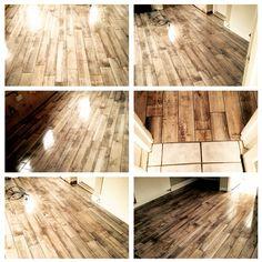 Just like the real thing! Tiling, Rustic Charm, Decor Interior Design, Hardwood Floors, Earth, Wood Floor Tiles, Wood Flooring, Mother Goddess, World