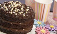 Naked Cake Chocolate Receita | Dr. Oetker