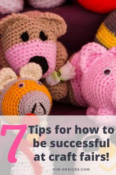 7 simple tips on how to be successful at craft fairs! All of my best tips at one place! Tips on how to prep, what to remember, setting up your booth and much more! By vim-designs.com Knitting Humor, Knitting Projects, Best Gifts For Her, Gifts For Mom, Cute Tote Bags, Knitted Bags, Grandma Gifts, Crafts To Do, Mommy And Me