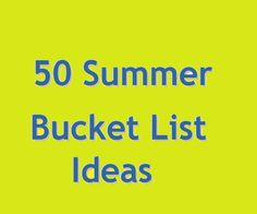 summer bucket list for teens  #summer #bucketlist