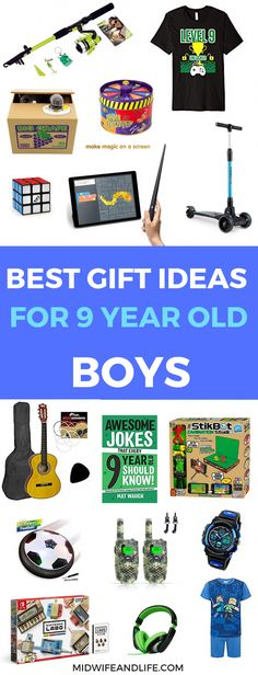 Gift guide for 9 year old boys : 9 year old boys are so difficult to buy for, I know I have one! Here are some gift ideas for your 9 year old boy so you won't have the same issues. Christmas Presents For 9 Year Olds, Christmas Gifts For Boys, Presents For Boys, Birthday Gifts For Boys, Boy Birthday, Gifts For Kids, Birthday Ideas, Christmas Ideas, 8 Year Old Boy