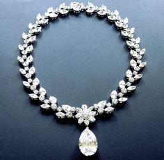 Bridal Jewelry Co. - Crystal Bridal Necklace - Flower Power