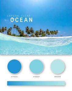 37 Beautiful Color Palettes For Your Next Design Project Flat Color Palette, Website Color Palette, Blue Colour Palette, Gradient Color, Colour Schemes, Color Palettes, Web Design Color, Web Colors, Beach Color