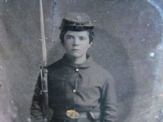 Armed Young Ohio Civil War Soldier Tintype Photograph | eBay