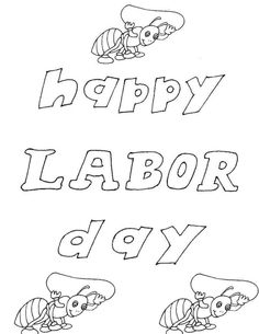 labor day 2014 printable cards for kids children toddler free printable coloring pagesprintable - Labor Day Coloring Pages Kids