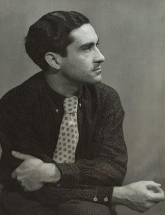 Dora Maar, Portrait of Georges Hugnet, 1934