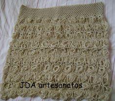 Peça postada no blog JDA artesanatos