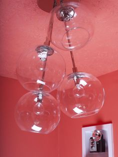Glass and Chrome Globe Pendants >> http://www.hgtvremodels.com/interiors/bright-functional-breakfast-nook-remodel/pictures/index.html?soc=pinterest#