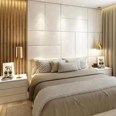 Luxurious Glam Bedroom Ideas You Need For Your Glam Room Modern Luxury Bedroom, Master Bedroom Interior, Luxury Bedroom Design, Bedroom Furniture Design, Master Bedroom Design, Luxurious Bedrooms, Home Decor Bedroom, Bedroom Wall, Luxury Hotel Rooms