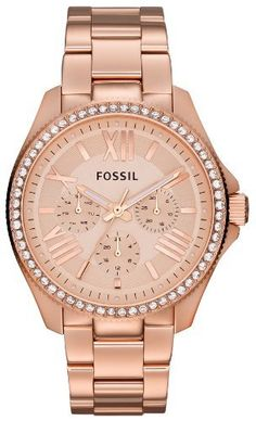 Fossil Cecile Multifunction Rose Dial Rose Gold-tone Stainless Steel Ladies Watch AM4483 Fossil http://www.amazon.com/dp/B00FN8JGRM/ref=cm_sw_r_pi_dp_MBx2tb0AHG8FD1QB