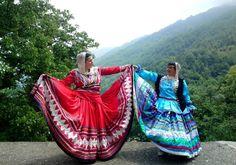Gilaki costumes - north of Iran
