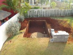 How to build an underground pool