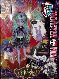 Monster High 13 Wishes Twyla and Pet www.wonderfinds.com/item/3_171036592830/c335/Monster-High