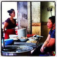 Waiting for customers @ popular Pho shop in Hoan Kiem Lake Hanoi  travelwithange on Instagram