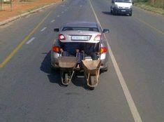 African Jokes, Dump A Day, Wheelbarrow, Best Funny Pictures, Random Pictures, Fail Pictures, Funny Pics, South Africa, Transportation