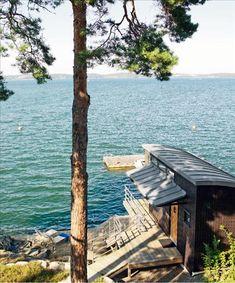 Tiny Waterfront Cabin | Tiny House Pins