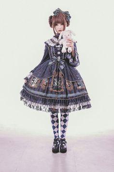 Angel's Heart The Dream of Arcana series preorder - jumperskirt, skirt, long sleeved one piece dress, one piece dress, accessories
