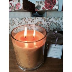 Glasshouse candles <3