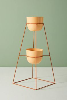 Montgolfier Indoor/Outdoor Plant Stand by Anthropologie Outdoor Landscaping, Outdoor Plants, Indoor Outdoor, Outdoor Decor, Plants Indoor, Outdoor Gardens, Art Fer, Cottage Style Bathrooms, Modern Plant Stand