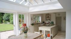 New Houzz project, Country Chic Kitchen Orangery in London. Kitchen Orangery, Sunroom Kitchen, Updating House, House, London Interior, Country Chic Kitchen, New Homes, Kitchen Addition, Orangery