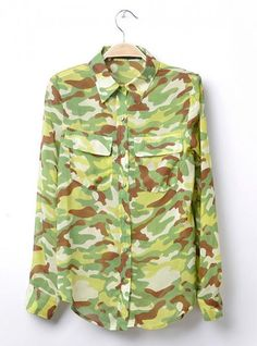 Camo Double Pocket Shirt