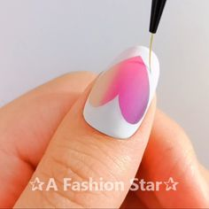 10 Beautiful Nail Designs - Nail Art - A Fashion Star Nail Art Designs Videos, Nail Design Video, Nail Art Videos, Nail Art Hacks, Nail Art Diy, Diy Nails, Nail Art Modele, Rose Nails, Pretty Nail Art