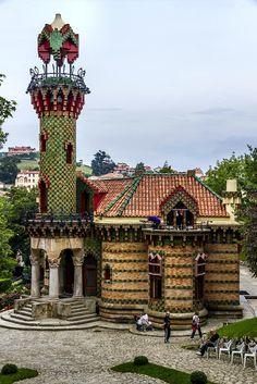 Capricho de Gaudí, Comillas Cantabria, Spain