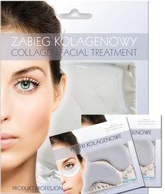 SPECIAL OFFER SET  Collagen sensitive skin face mask + 2 pcs eye collagen patch - only 19,90 PLN