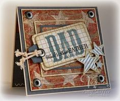 Masculine cards from pickled paper designs