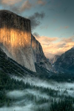 Yosemite National Park, California.